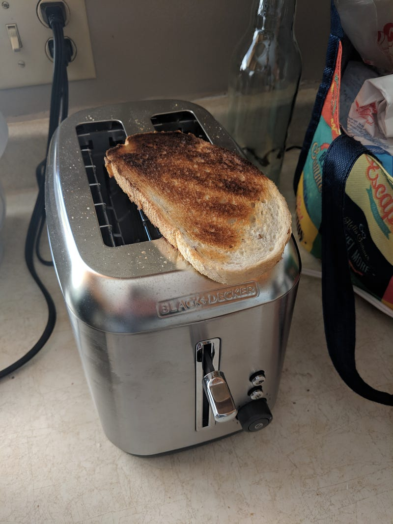 Illustration for article titled Toaster status: comically overpowered