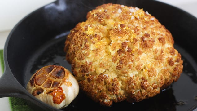 Brine a Cauliflower Just as You Would a Turkey