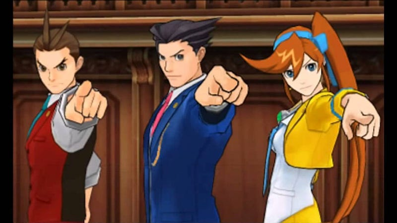 Illustration for article titled Nyren's Corner: Capcom is Developing a Phoenix Wright game for Nintendo Switch