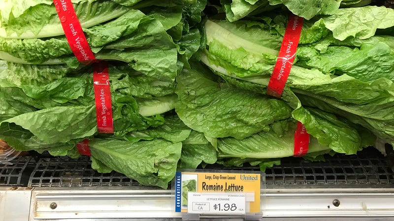 Contaminated romaine lettuce might still linger on store shelves, the CDC says.