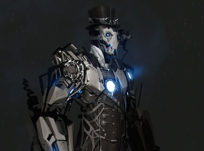 Illustration for article titled This Steampunk Iron Man Art Comes With a New Tragic Backstory