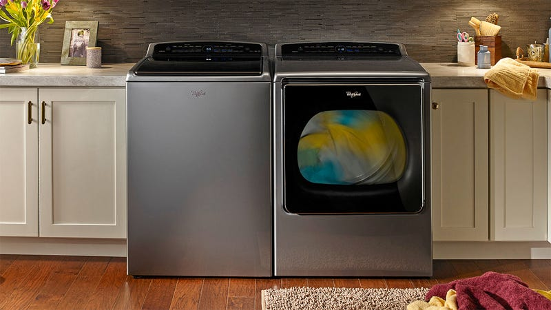 Whirlpool's New Washer and Dryer Automatically Restock Detergents Using Amazon Dash