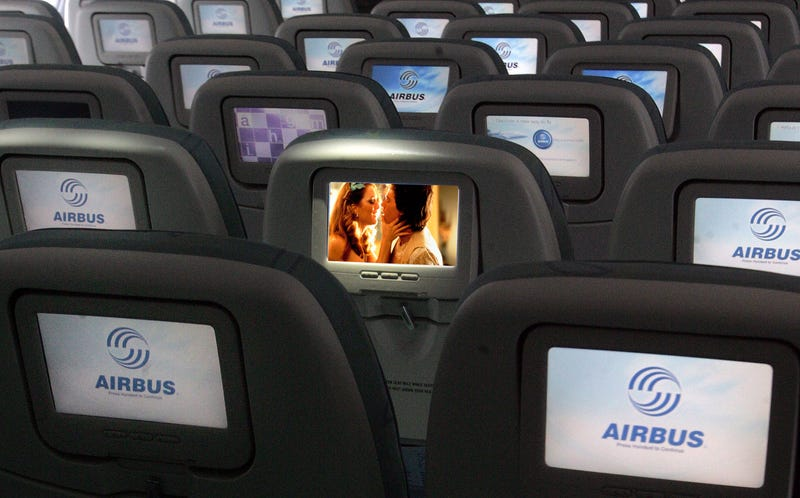 Illustration for article titled Here Is A Question: What Do You Do When Your Airplane Movie Has Sex Scenes In It?