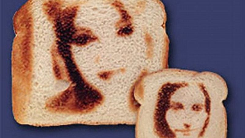 Illustration for article titled Print your selfies on toast, just like the good lord intended
