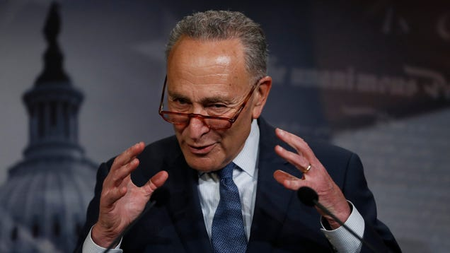 Chuck Schumer Is a Last-Minute No on Trump s North American Trade Deal, Citing Lack of Climate Progress