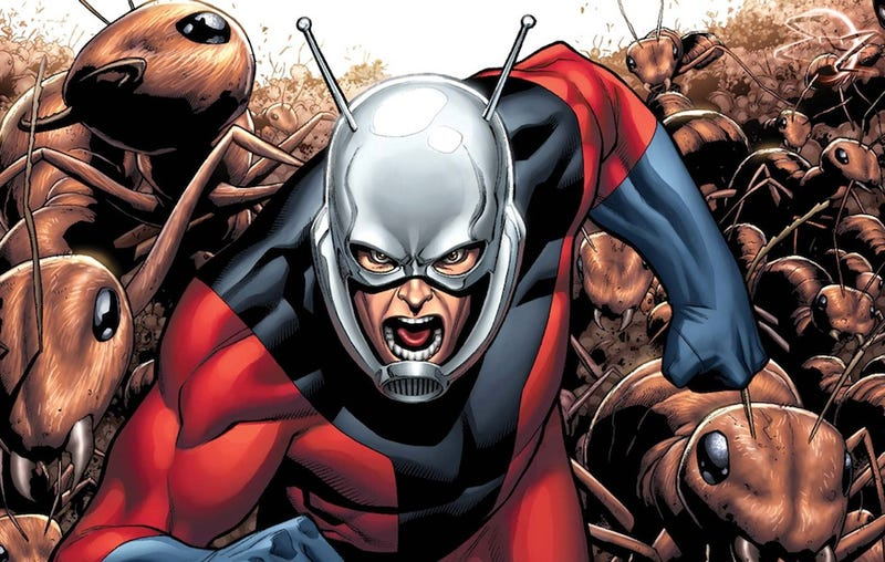 Illustration for article titled Edgar Wright's Ant-Man movie test footage finally revealed!
