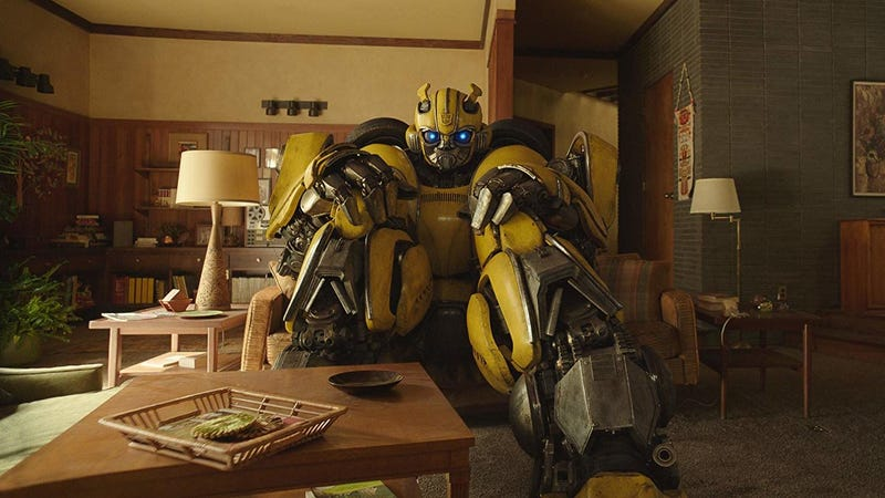 Illustration for article titled The Bumblebee Movie Sounds Very Sexy, Which Nobody Asked For