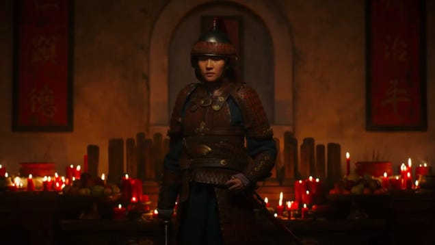 Mulan's Final Trailer Highlights the Film s Epic Action