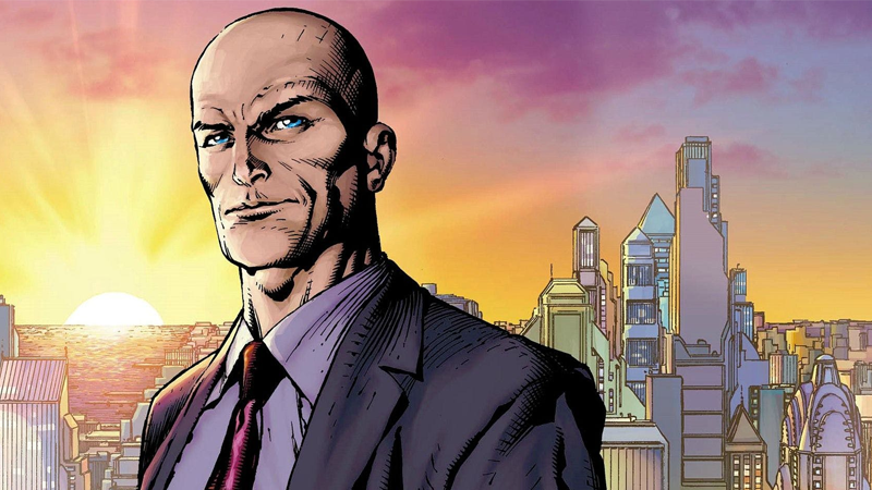 Lex, on the cover of Action Comics #890.