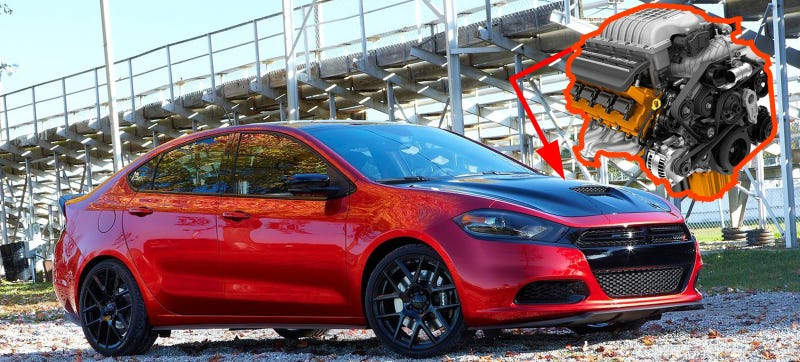 Illustration for article titled Dodge Refuses To Build A Hellcat Dart