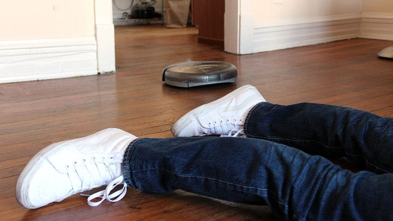 Awesome The New Roomba Will Embalm You If You Die Alone In Your