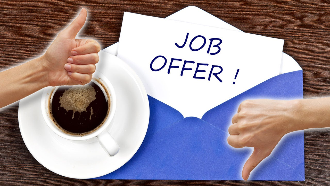 How To Accept and Decline Job Offers