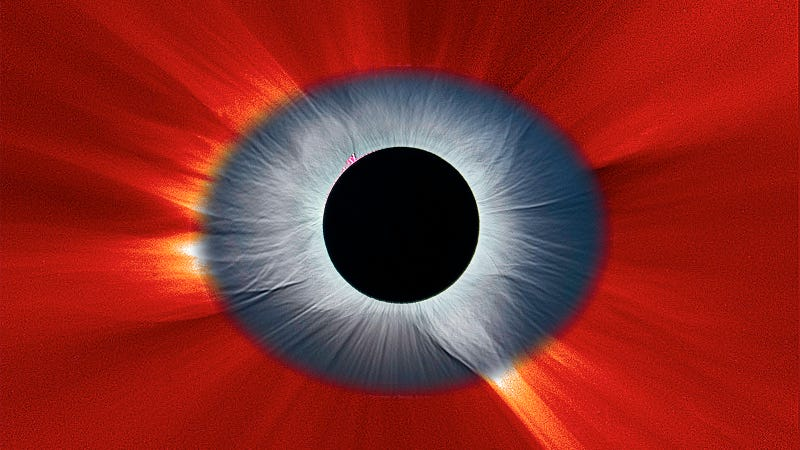 Illustration for article titled Stunning Solar Eclipse Image Looks Like the Eye of our Solar System