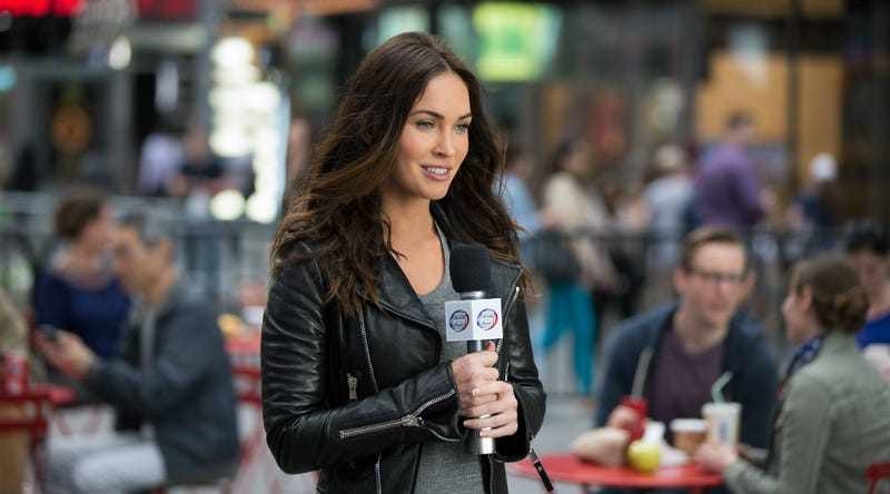 Megan Fox as April O'Neil in Teenage Mutant Ninja Turtles: Out of the Shadows. Image: Jessica Miglio/Paramount