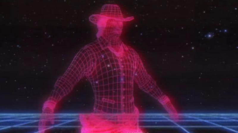 Westworld TV Retro Intro (Screenshot: YouTube)
