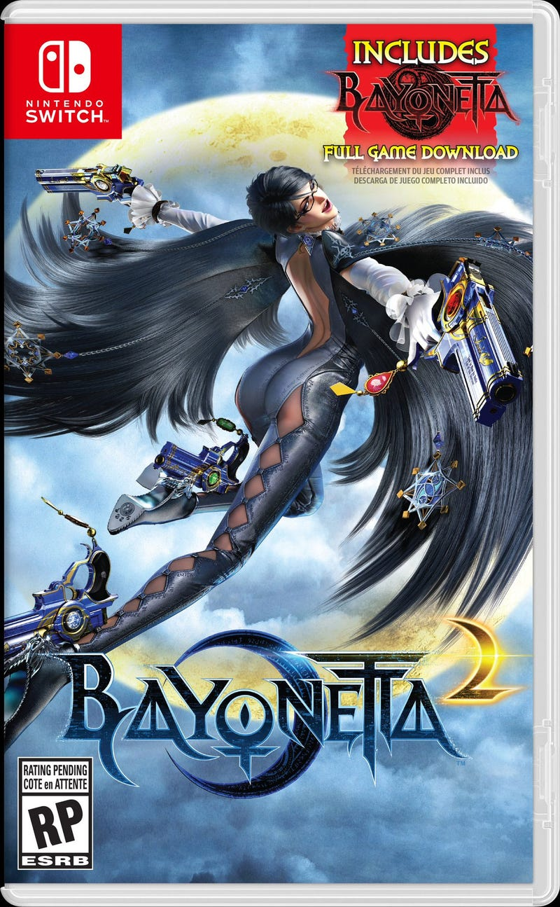 Bayonetta 1 & 2 announced for the Switch Omi3zgr1uonivvzf04qm