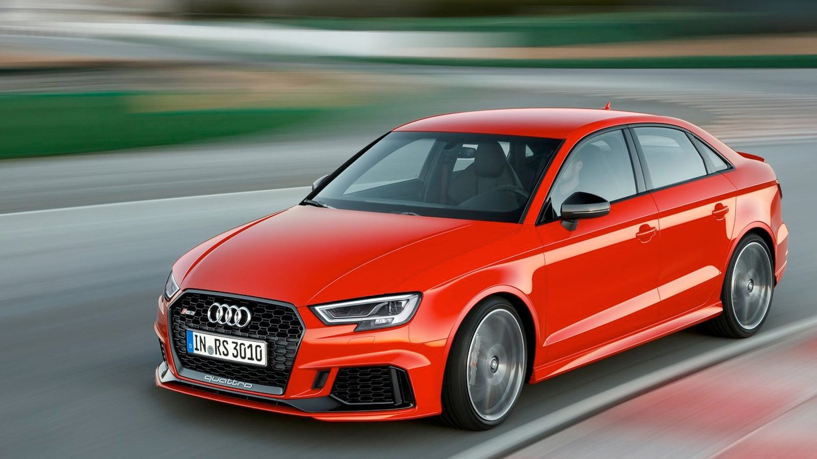 Take The Kids To School Real Damn Fast In The Audi RS Sedan For - Audi rs3