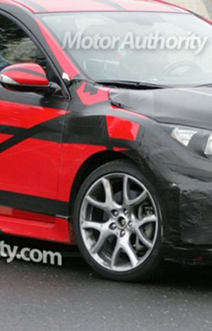 Illustration for article titled 2010 Mazda3 MPS Mazdaspeed: Red, Mean And Geneva-Bound