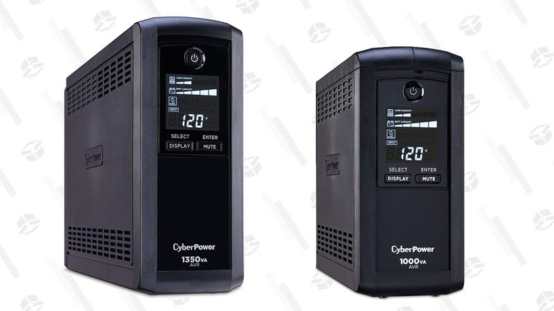 CyberPower UPS Battery Backups (Various Sizes) | $75-$110 | Amazon