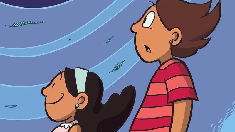 Illustration for article titled Raina Telgemeier expands her horizons with the heart-wrenching Ghosts