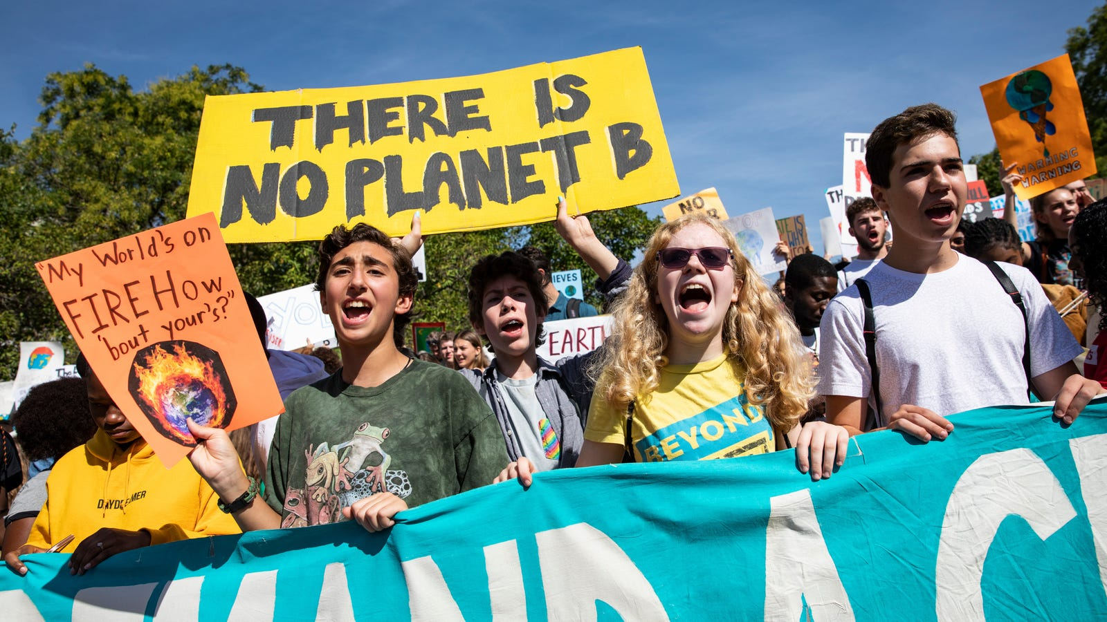 A Memo to Tech Titans on the Day of the Climate Strike: It's Time to Pick a Side
