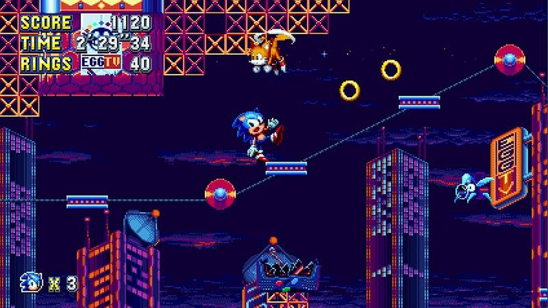 Sonic Mania (Screenshot: Sega)