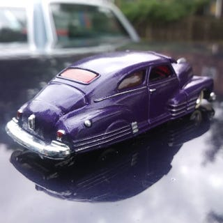 Illustration for article titled Custom purple flake Fleetline
