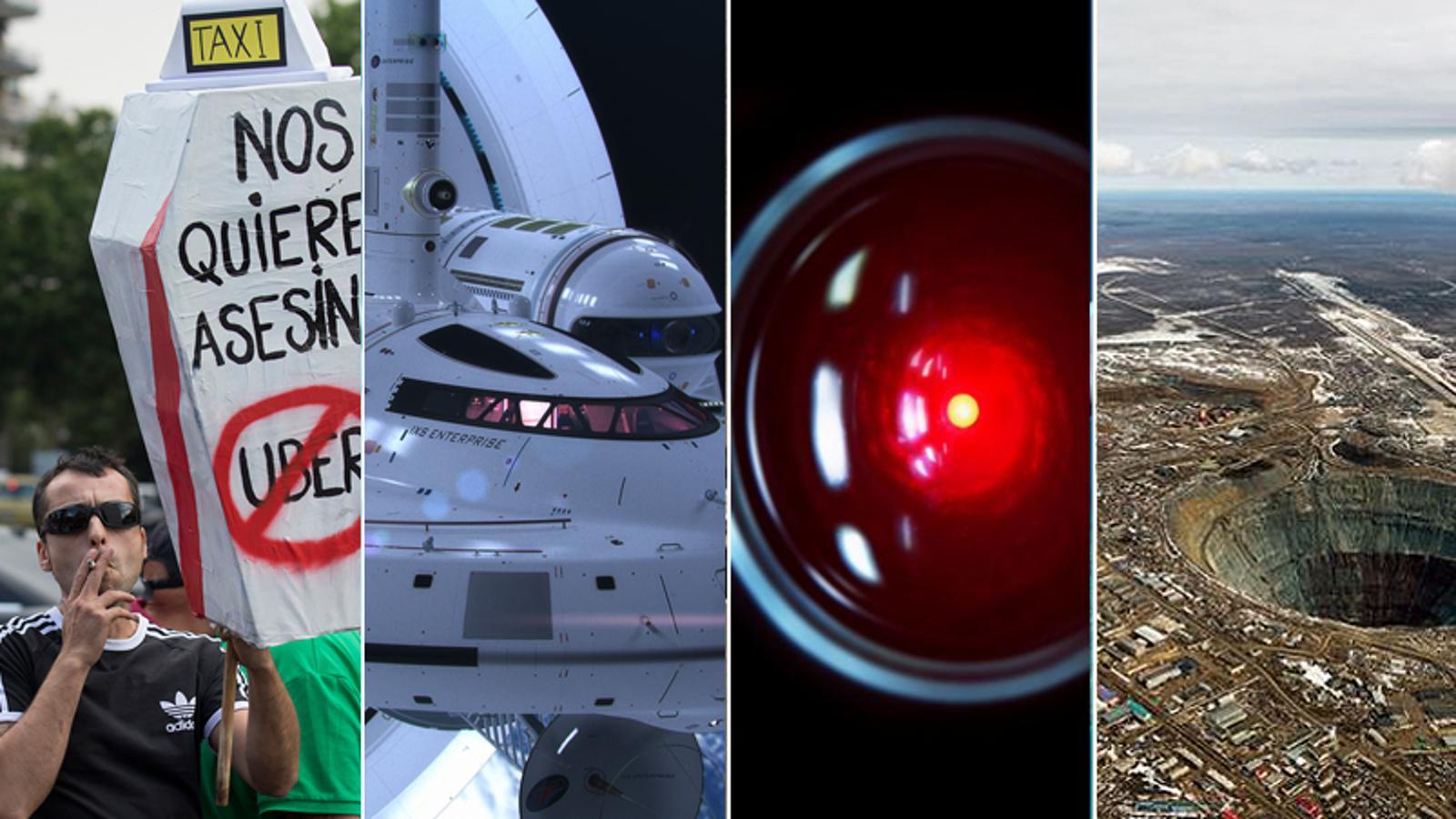 Uber, E3, Motores Warp, Turing y el Mundial, lo mejor de la semana