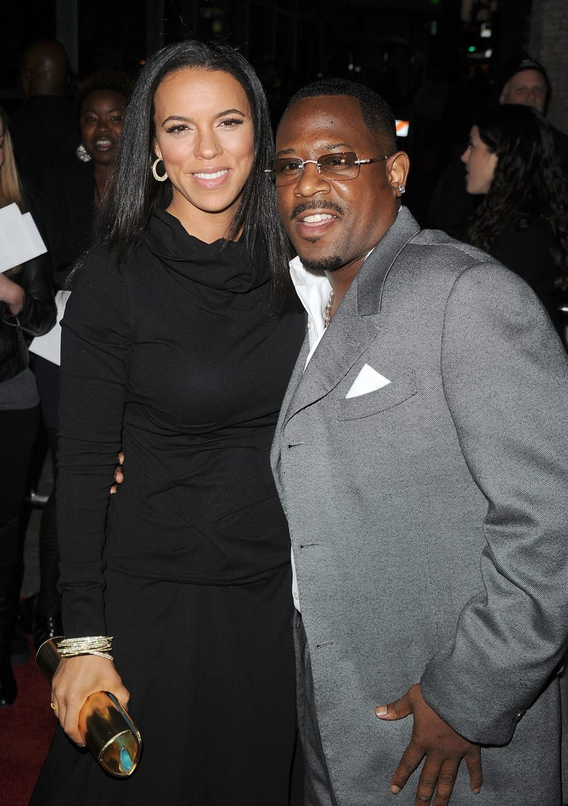 Illustration for article titled Comedian Martin Lawrence Marries Longtime Girlfriend