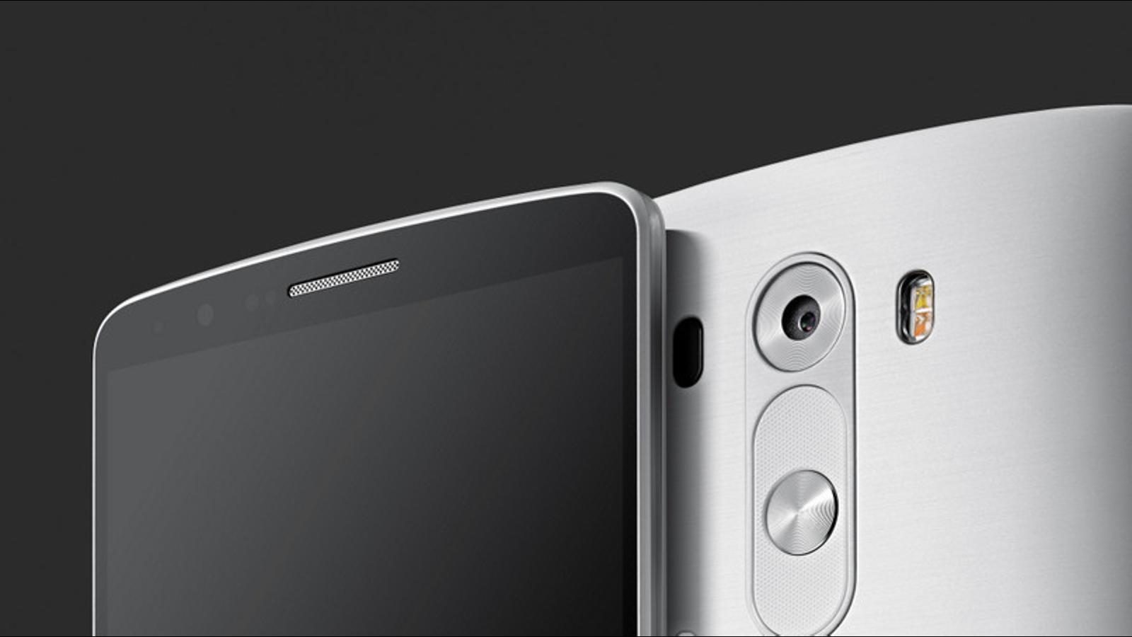El LG G3 vendrá con un nuevo sistema de autofoco por láser