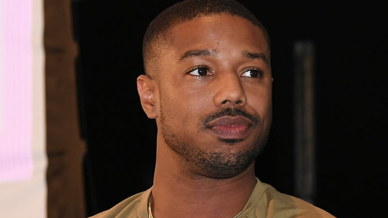 Illustration for article titled Michael B. Jordan Does Not Only Date White Women! (He Says)