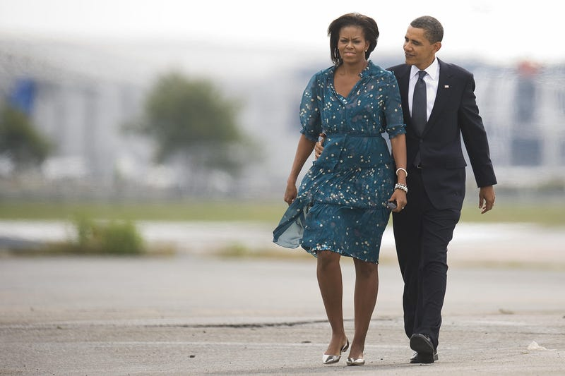 Illustration for article titled PHOTO OF THE DAY: The Obamas hit the G20