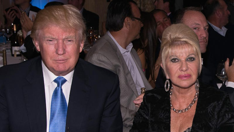 Illustration for article titled Ivana Trump Says Ex-Husband Donald Trump Sexually 'Violated' Her