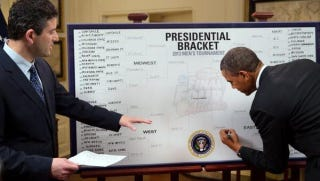 Illustration for article titled Why Are Obama's Brackets So Boring?