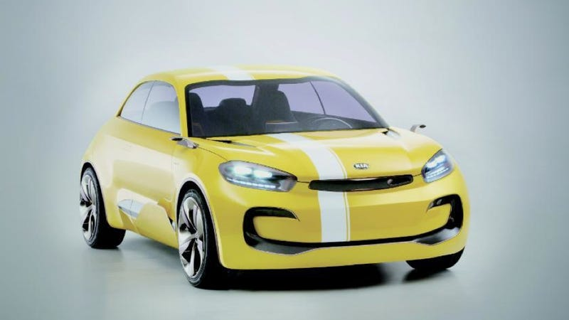 Illustration for article titled Kia KND-7 Concept Is The Kia CUB Concept With The Lights On