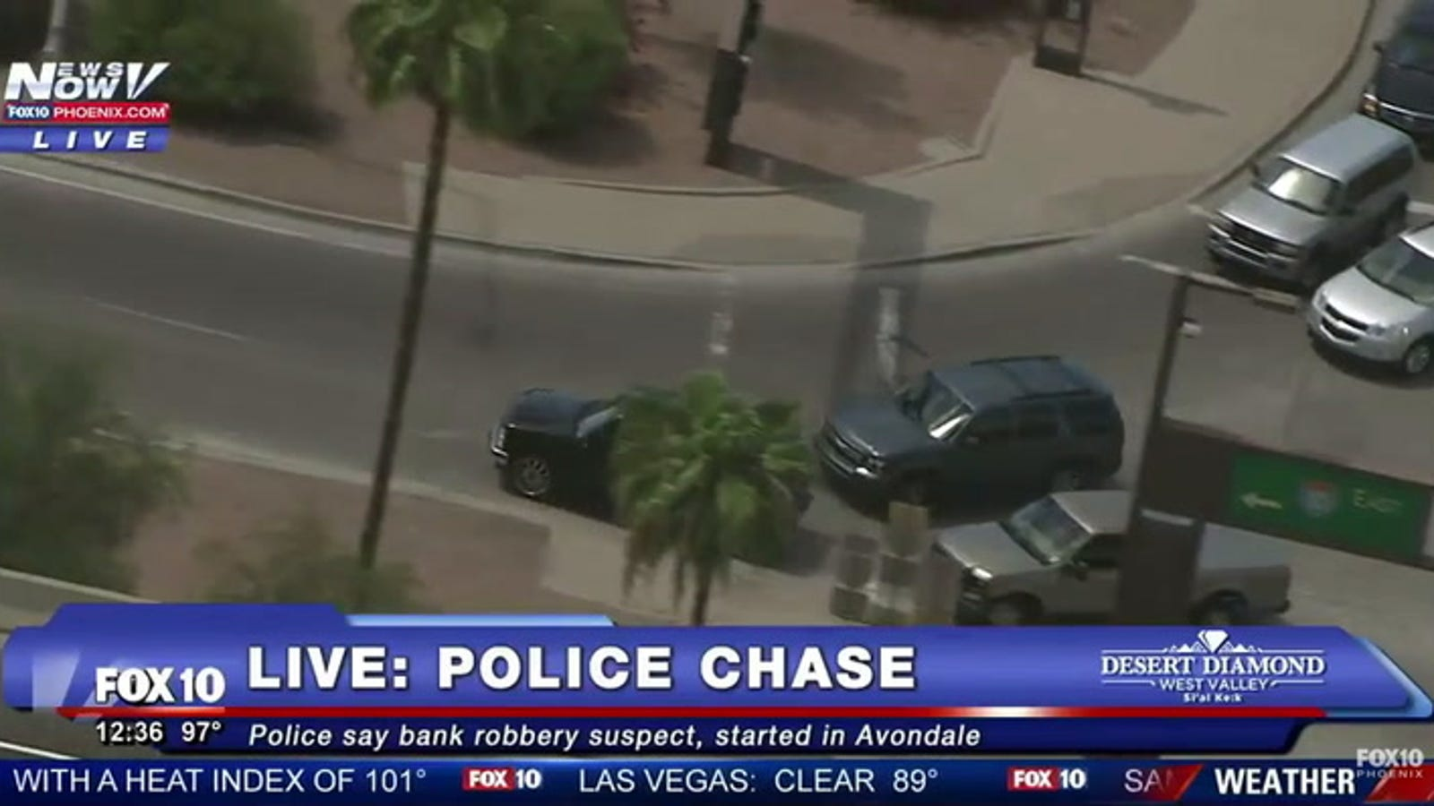 Arizona TV Station Airs Chase That Ends With Police Shooting