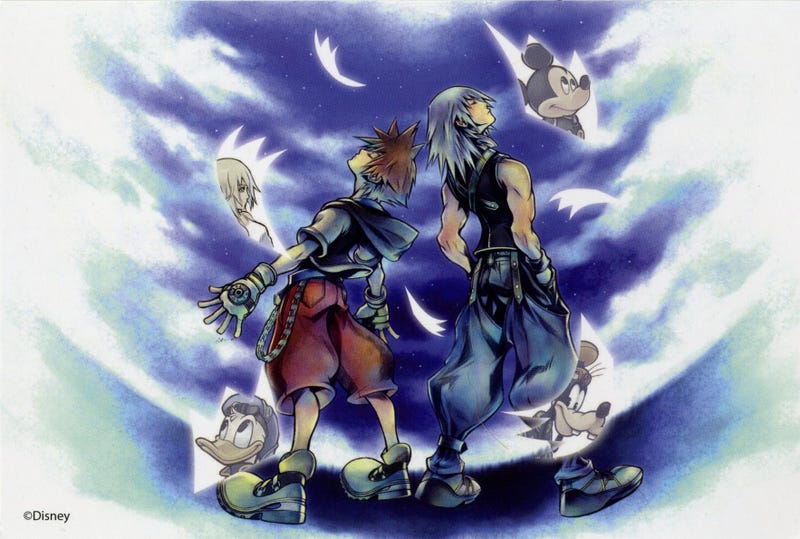 Illustration for article titled Kingdom Hearts In Review, Part Three: Kingdom Hearts: Chain of Memories (2004)