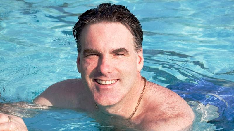 Pool Owner Has Bathing Suit That Touched His Penis You Can Borrow