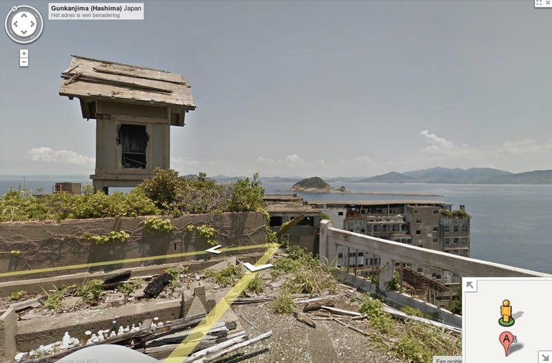 Illustration for article titled Japan's abandoned Battleship Island is now on Google Street View