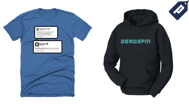 Illustration for article titled Save 10% At The Deadspin Store: Get Your Tees, Hoodies & Stickers