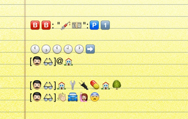 Illustration for article titled The Entire Breaking Bad Premiere, Translated Into Emoji