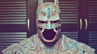 Illustration for article titled What An Ancient Mayan Batman Would Look Like
