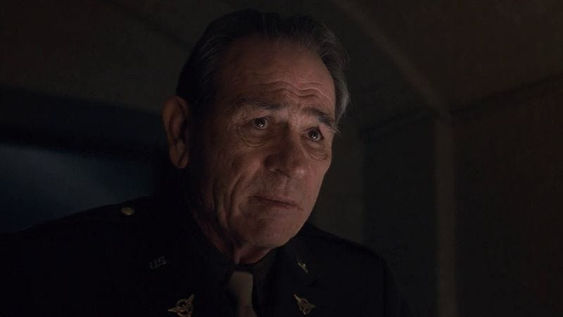 Tommy Lee Jones as Col. Chester Phillips in Captain America