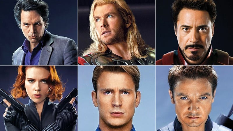 Illustration for article titled New Avengers photos show off the growing Iron Man/Captain America rivalry
