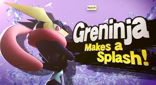 Illustration for article titled Greninja, The Ninja Tongue Pokémon, Is A New Character In Smash Bros.