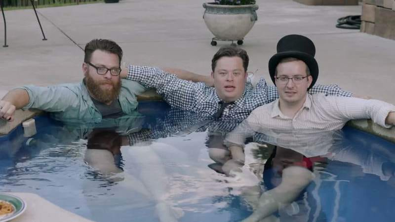 Travis (left), Justin, and Griffin McElroy (Screenshot: My Brother, My Brother And Me)