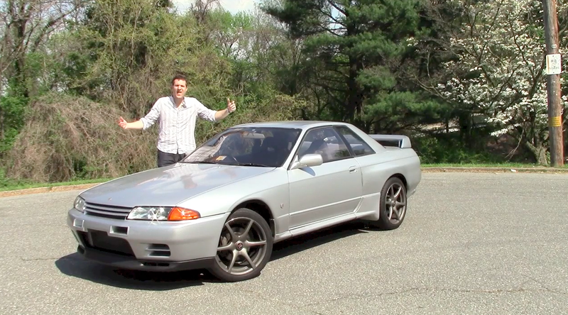 Illustration for article titled Here's What It's Like To Drive An Imported Nissan Skyline GT-R