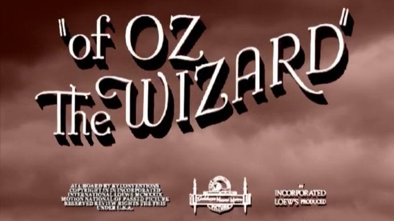 Illustration for article titled An alphabetical The Wizard Of Oz recut is both orderly and chaotic