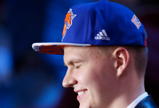Illustration for article titled You Know What, Fine, Do A Kristaps #Knickstape, Whatever, See If I Care