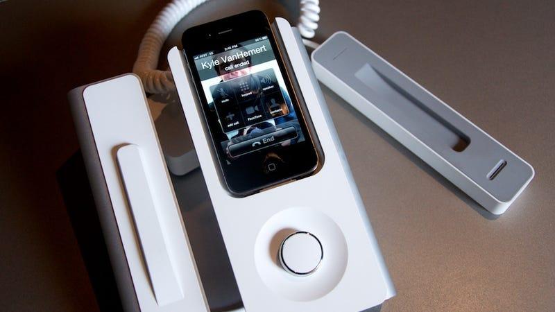 Illustration for article titled KEE Desk Phone Dock: Hang Up